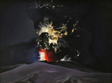 2011, Dark light 2, 40 x 30, oil on canvas