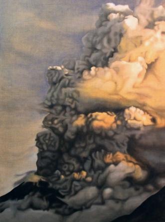 Outburst, 2011, oil on canvas with rabbit glue, 100 x 135