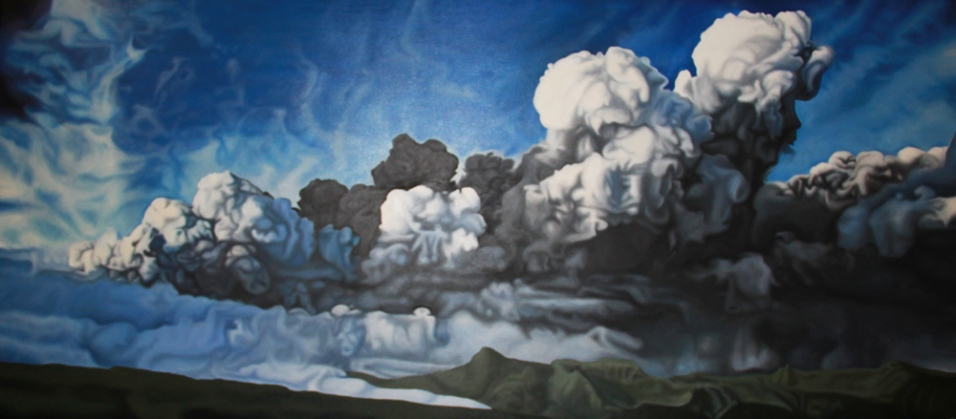 2011, Panorama 2012, 180 x 80 cm, oil on canvas