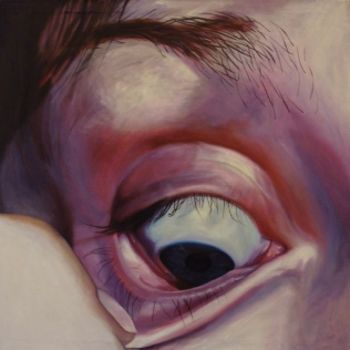 Soul searching, 2007, oil on canvas, 100 x 100