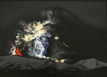 2011, Dark light 1, 40 x 30, oil on canvas