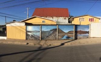 'Earth remains - I am fragile' Santa Julia, Viñar del Mar, Chile, 2019