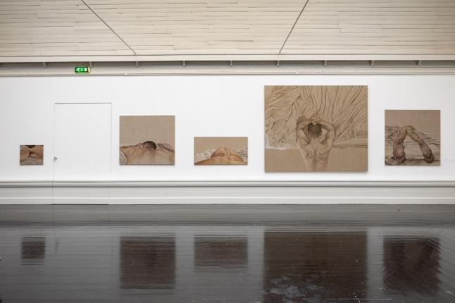 Installation view, The artists' autumn exhibition, Den Frie, 2019.